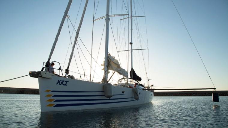 Barco da família Schürmann usa tecnologia do SENAI para navegação mais segura
