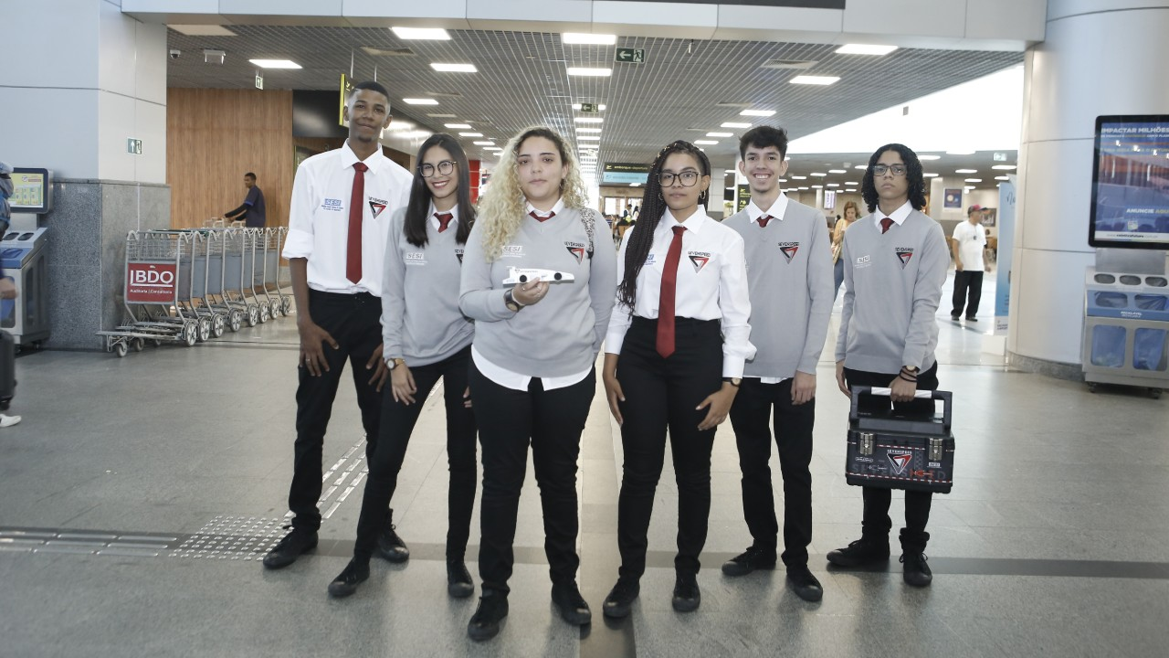 Equipe do SESI BA participa de mundial de F1 in Schools