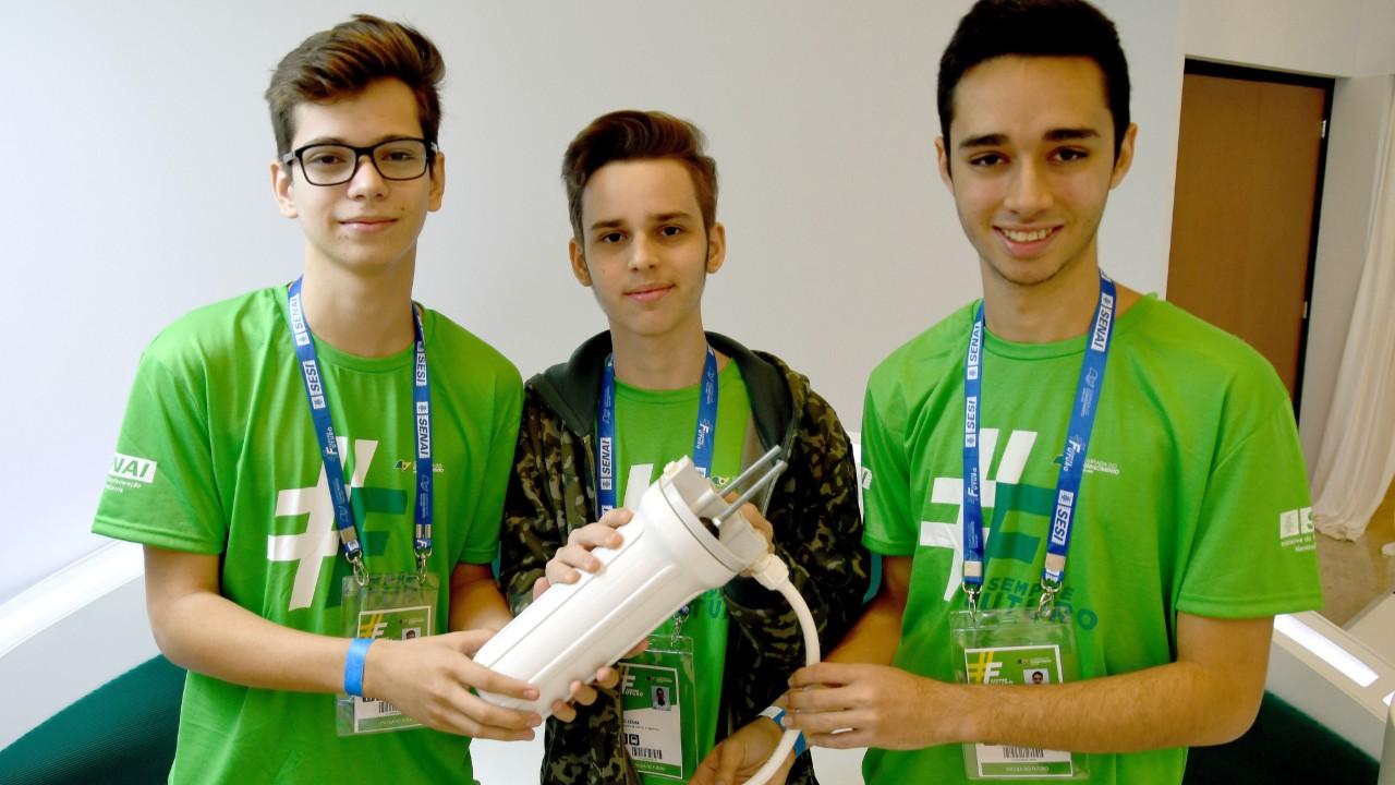 Olimpíada do Conhecimento incentiva estudantes a buscarem as carreiras de engenharia de maneira inovadora