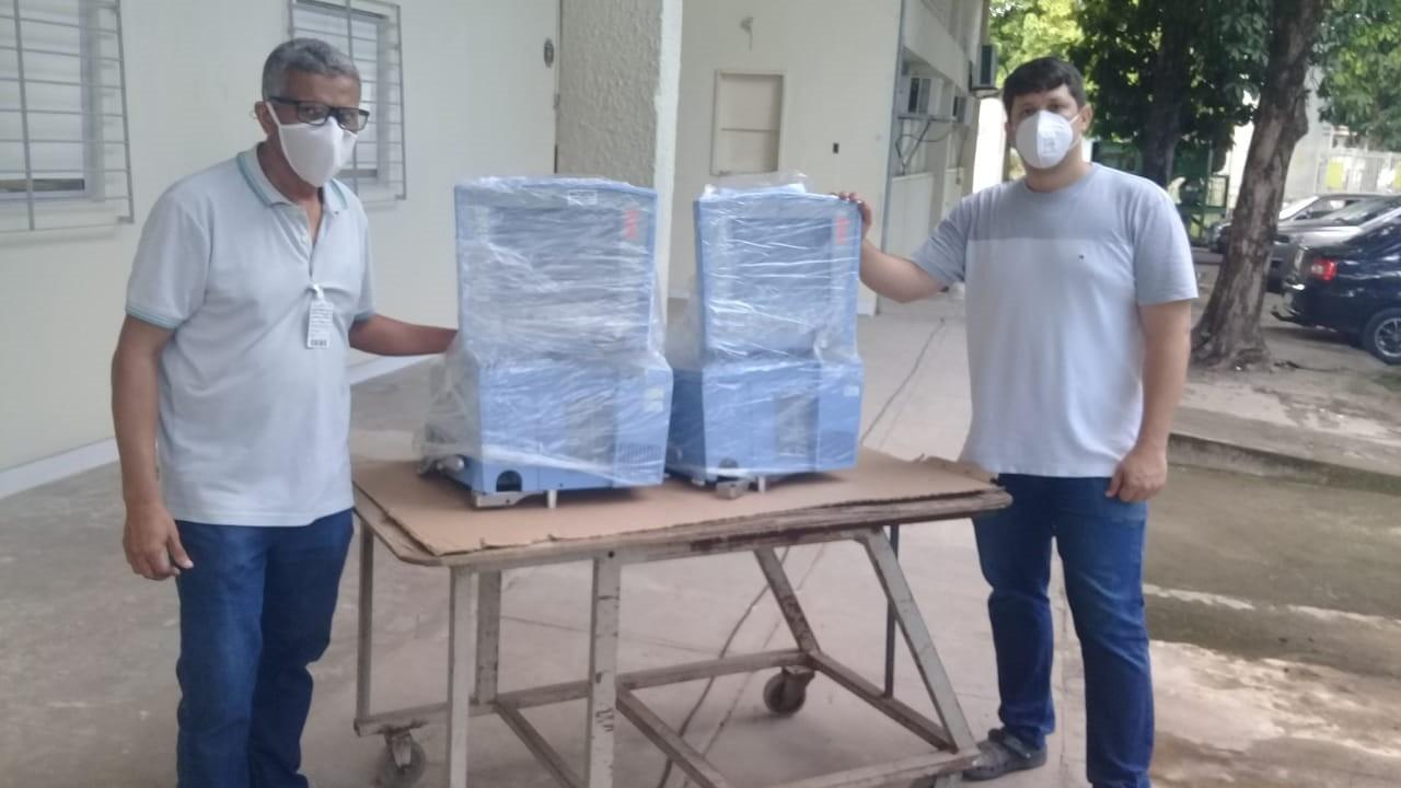 SENAI de Alagoas devolve respiradores mecânicos para Hospital Universitário