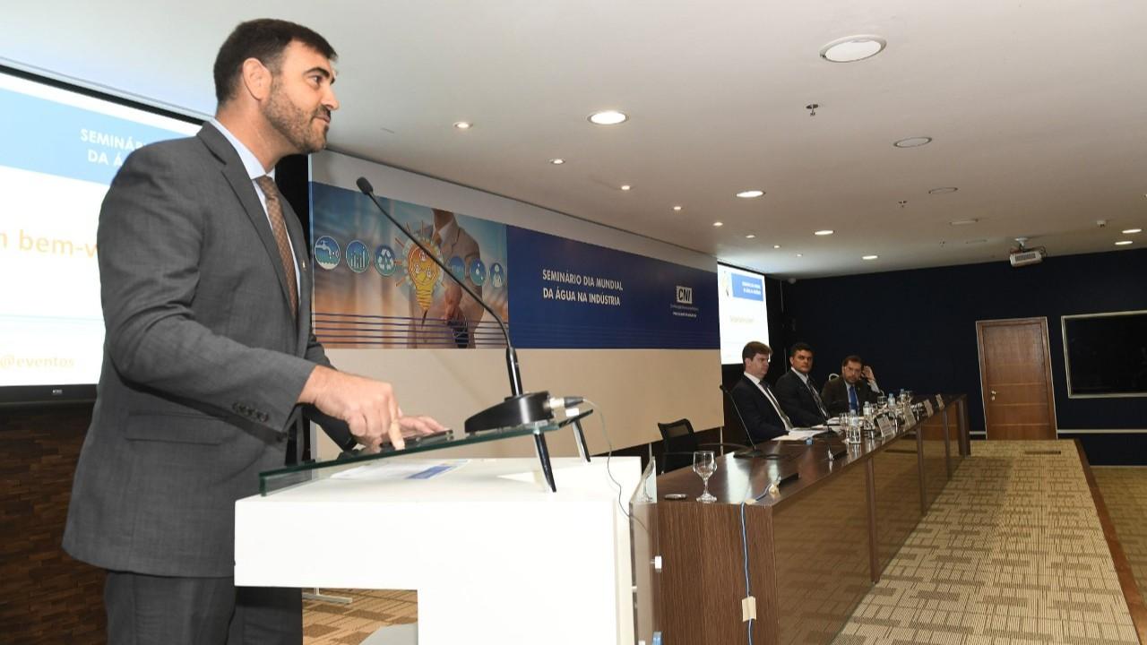 Brasil tem competência técnica para desenvolver projetos de reúso de água