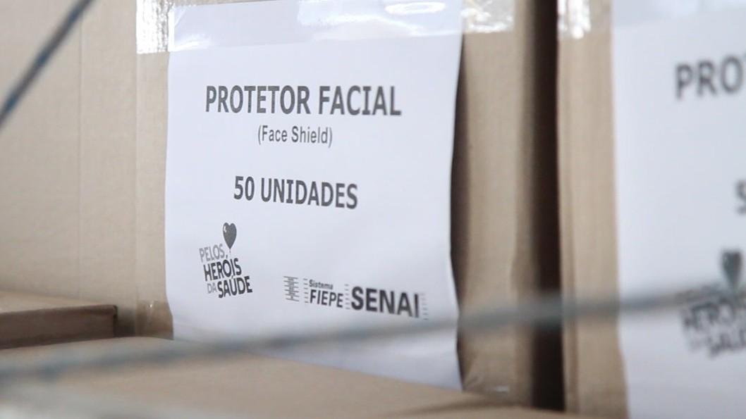 FIEPE entrega mais de 40 mil EPIs para hospitais do Recife