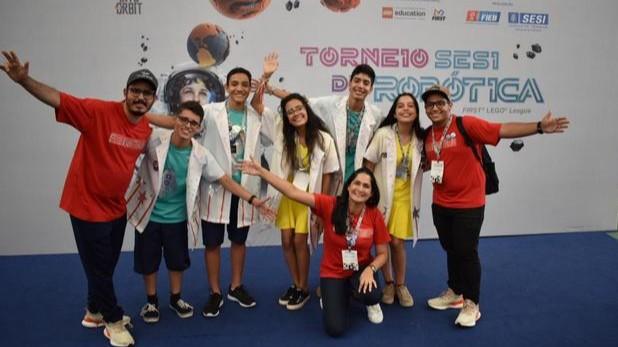 Equipe de Alagoas cria barreira protetora para astronautas no Torneio SESI de Robótica