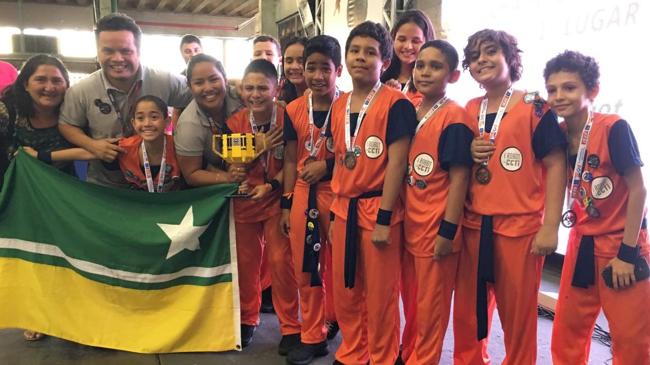 Equipe de Roraima é a campeã da  etapa Norte do Torneio SESI de Robótica