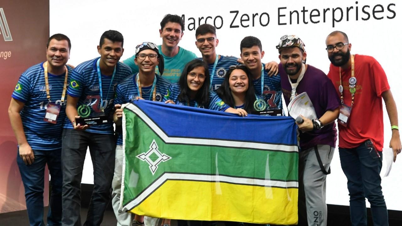 Equipe do SESI Amapá conquista premiação em torneio nacional de robótica