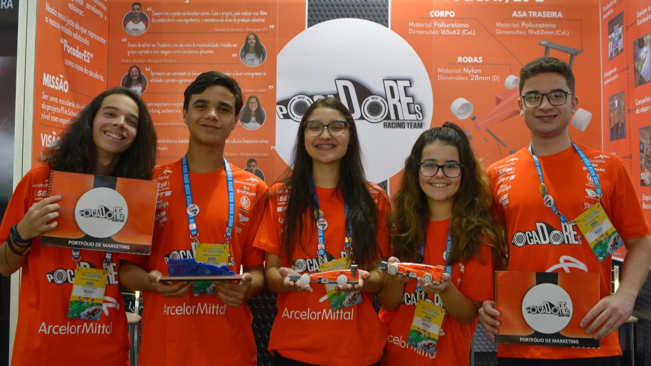 Acelera: equipes brasileiras participarão de mundial do F1 in Schools