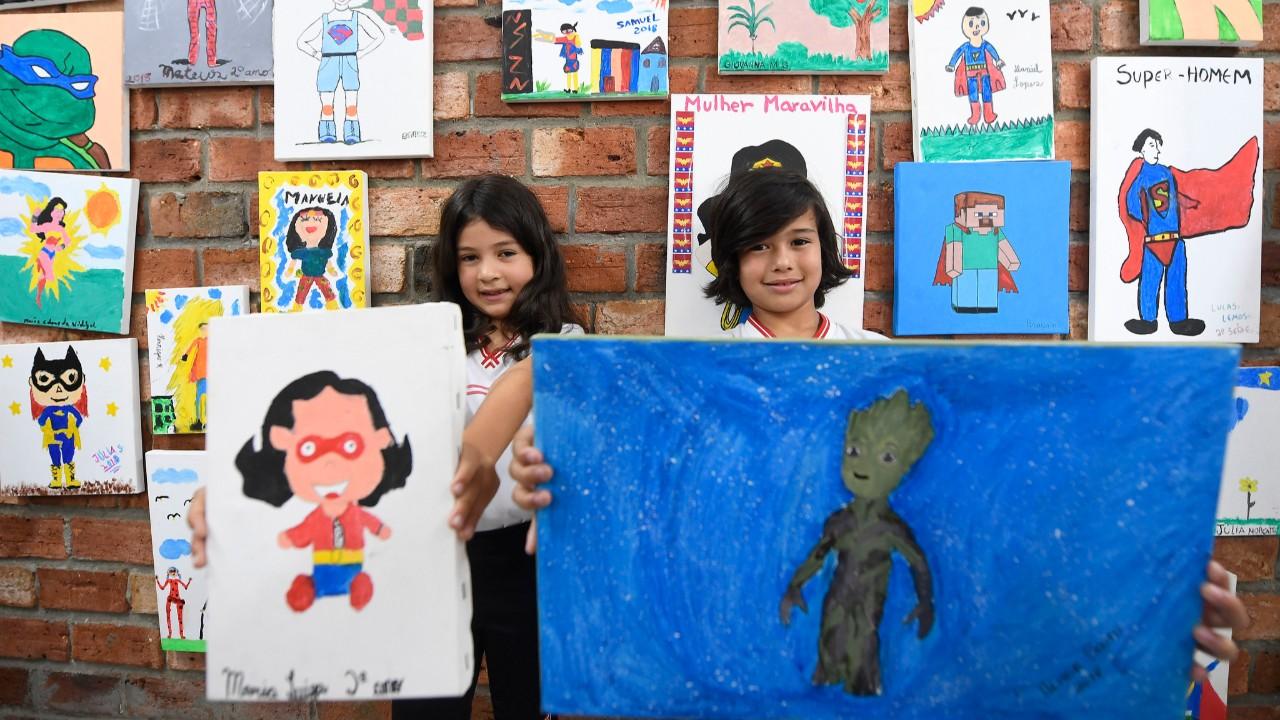Espaço de aprendizado além muros da escola estimula a criatividade dos alunos