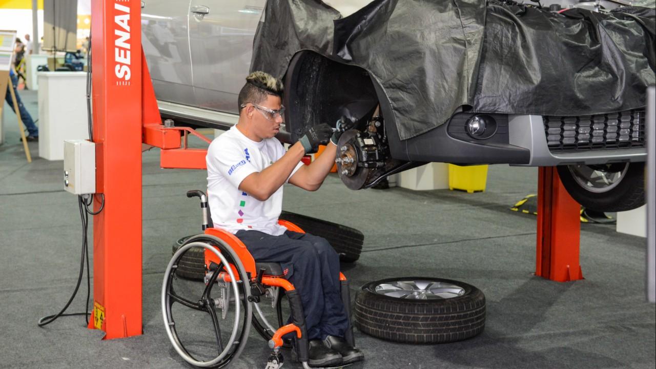 Ações de inclusão do SESI e do SENAI marcam Dia da Luta das Pessoas com Deficiência