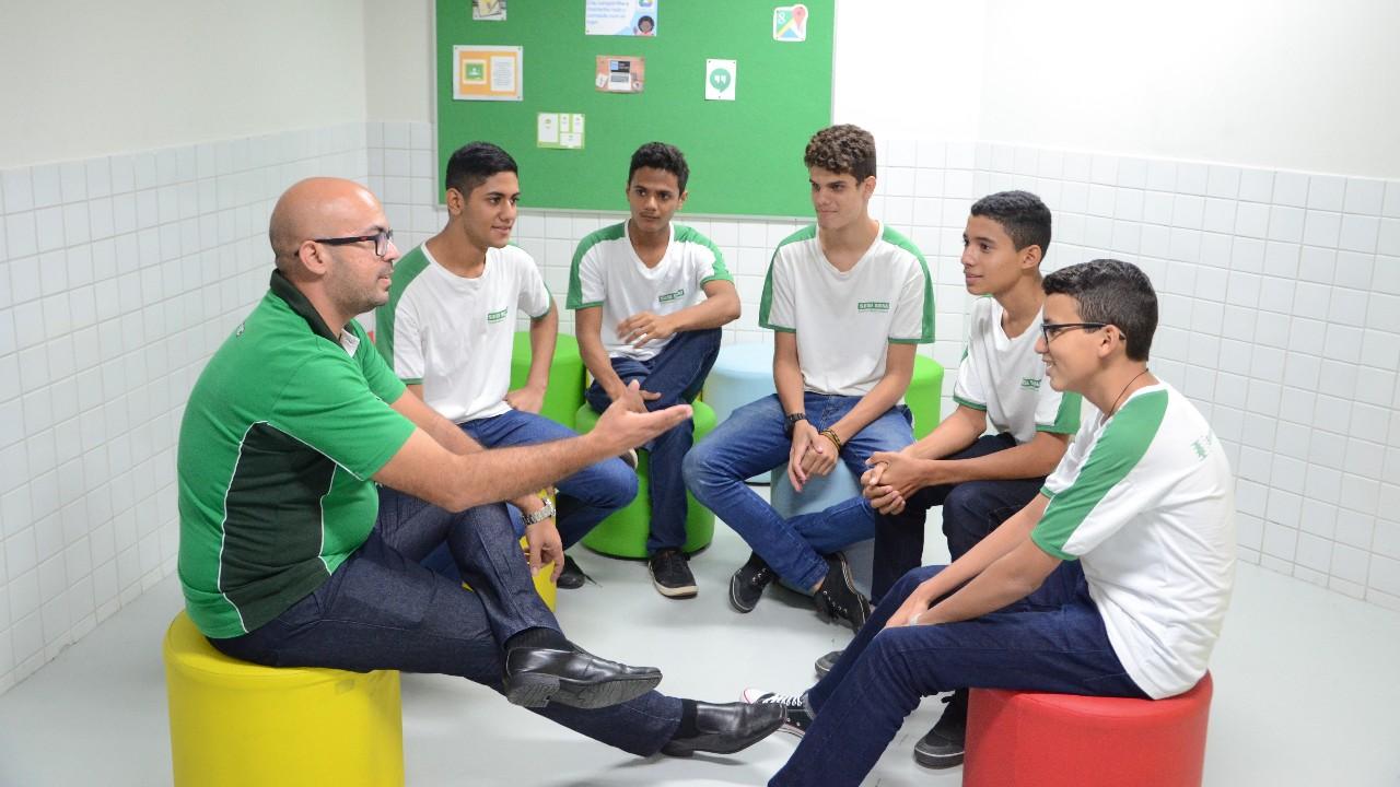 Estudantes avaliam positivamente o Novo Ensino Médio