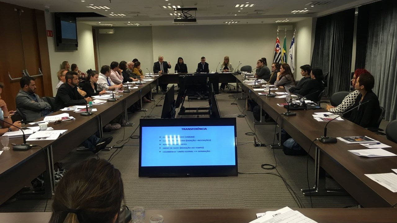 Oficina de propriedade intelectual destaca o papel dos profissionais de comunicação na divulgação do tema