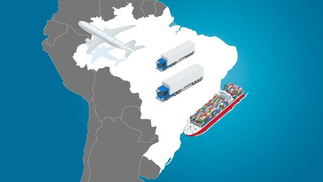 Infraestrutura deficiente reduz potencial de exportação do Brasil para nove dos 11 parceiros comerciais na América do Sul