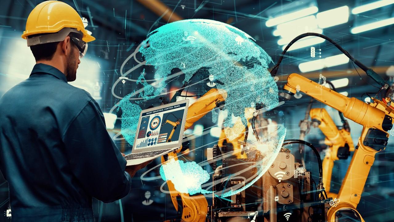 A fábrica digital