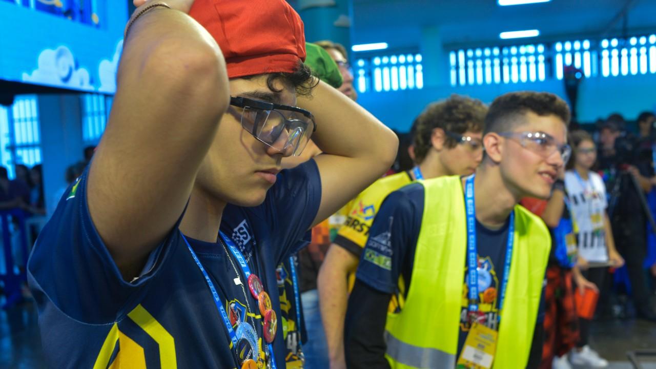 Você sabe onde estão os campeões do Festival SESI de Robótica?