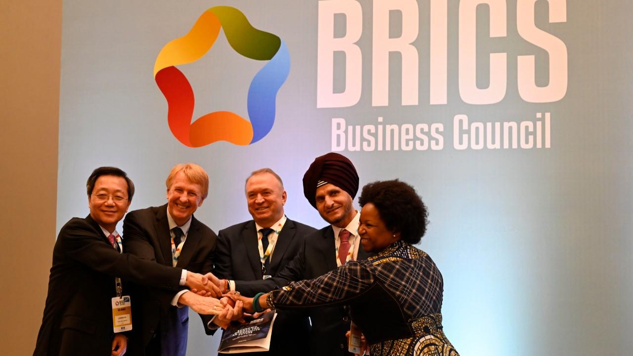 Veja em fotos como foi o Fórum Empresarial do BRICS, em Brasília