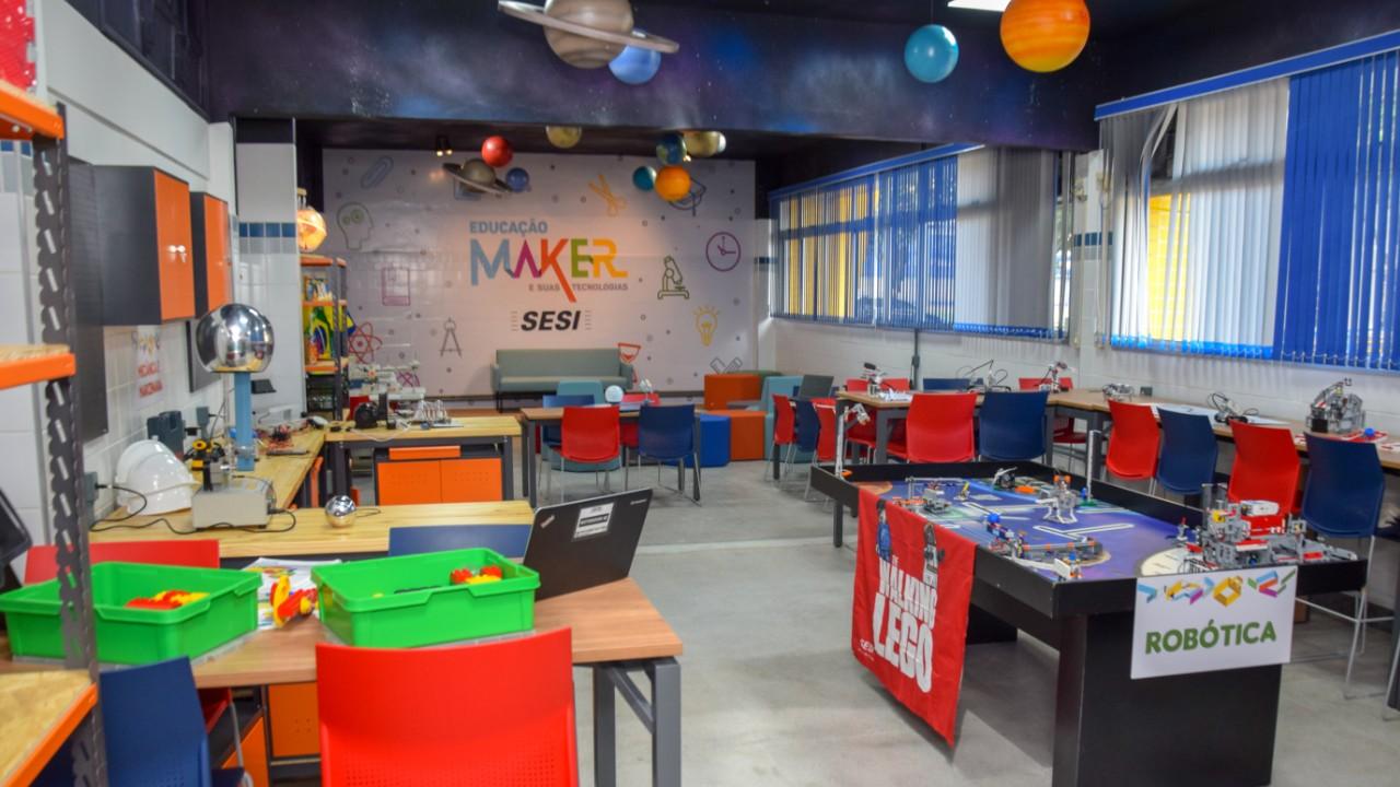 Espaço Maker: Conheça a novidade do SESI para preparar os alunos para o futuro