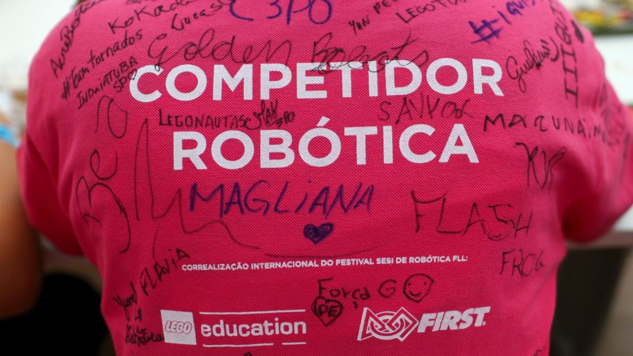Já se inscreveu? Torneio SESI de Robótica encerra as inscrições no dia 30 de setembro