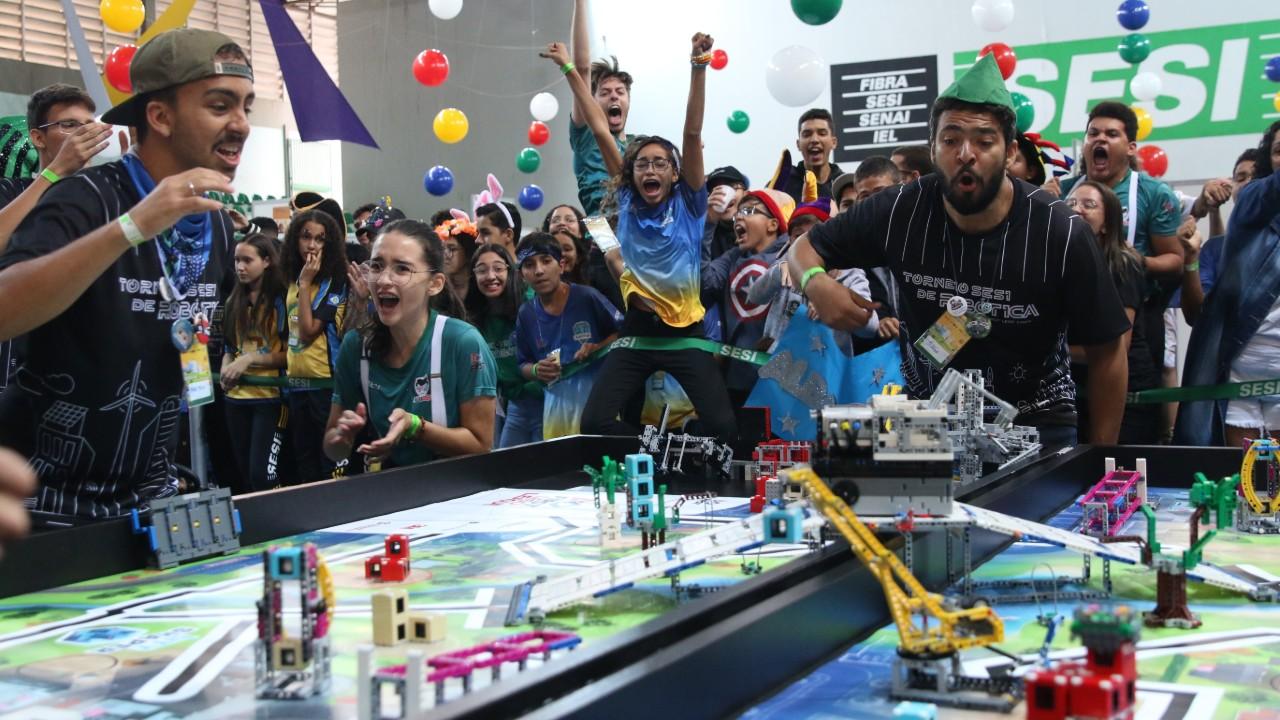 Classificados: Mais 4 equipes garantem vaga na etapa nacional do Torneio SESI de Robótica