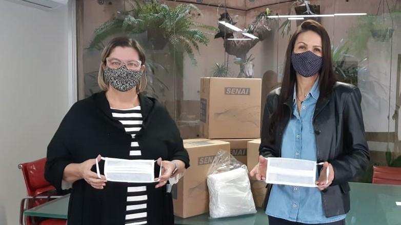 Federações das indústrias reforçam doações de máscaras e refeições