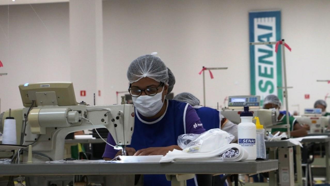 SENAI seleciona 250 indústrias para receber consultoria gratuita em fabricação de EPI