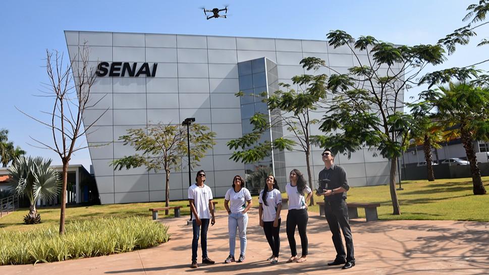 SENAI do Mato Grosso do Sul oferece curso de piloto de drone