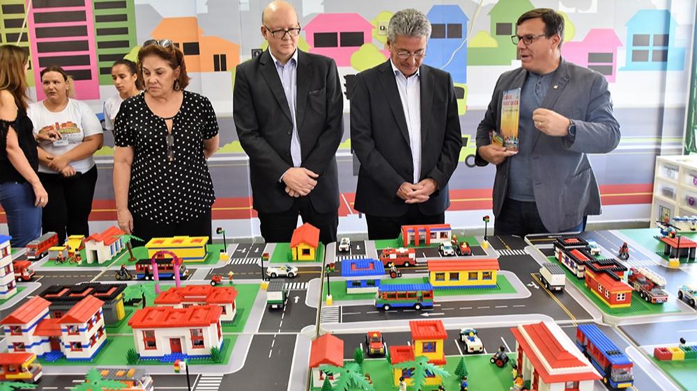 SESI e FIEMS iniciam programa de educação para o trânsito no Detran/MS com LEGO