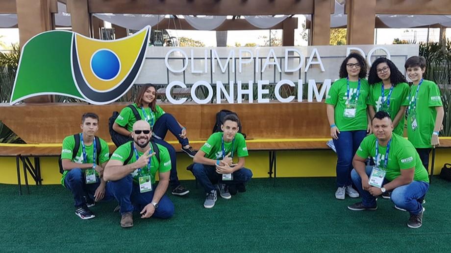 Alunos do SESI do Mato Grosso do Sul apresentam projetos inovadores na OC2018