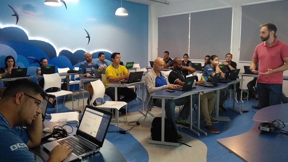 Professores do SESI participam de treinamento da Microsoft para inovar em sala de aula