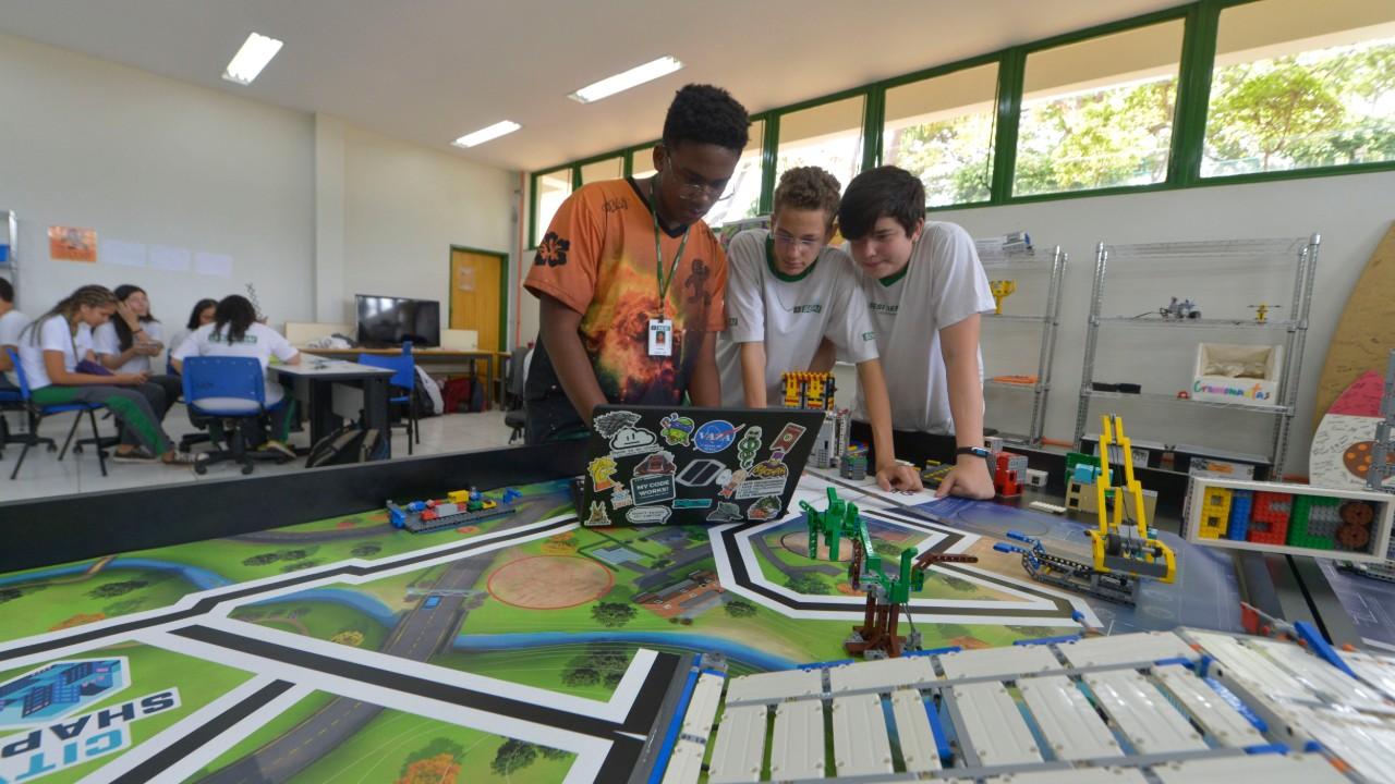 Já se inscreveu para o maior torneio de robótica do Brasil?