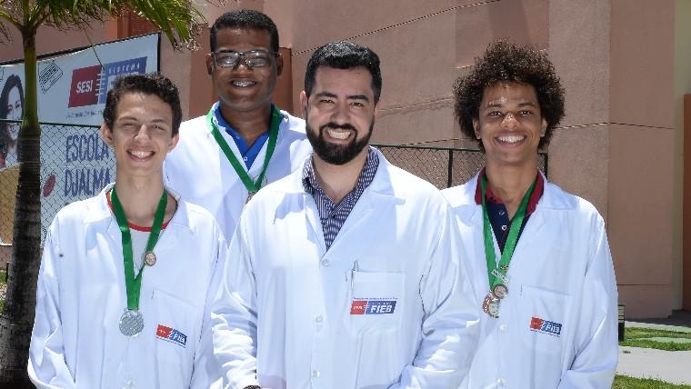 Estudantes do SESI Bahia participam de feira de ciências nos Estados Unidos