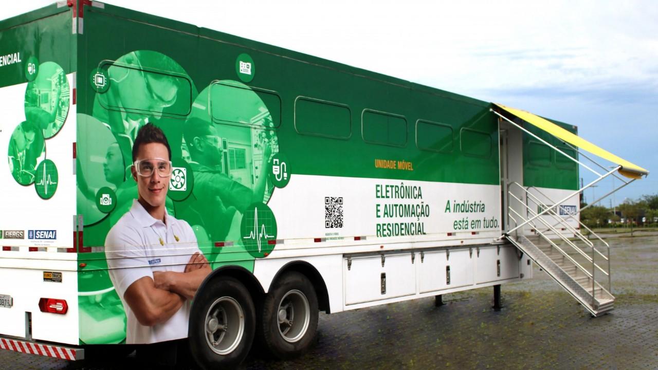 Aqui, ali e aí: tem vagas para os cursos do SENAI por todo Brasil