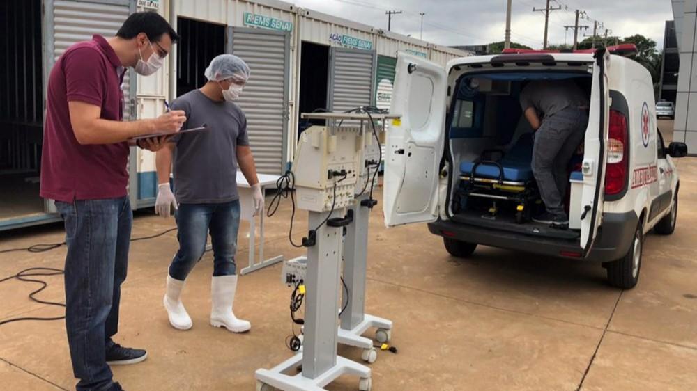 SENAI garante reparo de respiradores hospitalares de 12 cidades de Mato Grosso do Sul