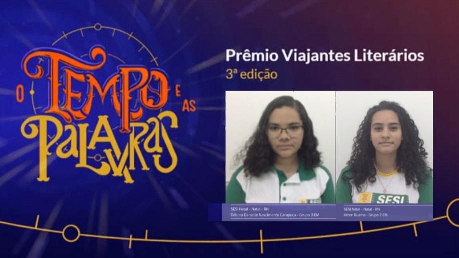 Paixão pela literatura valeu prêmio para alunas do SESI