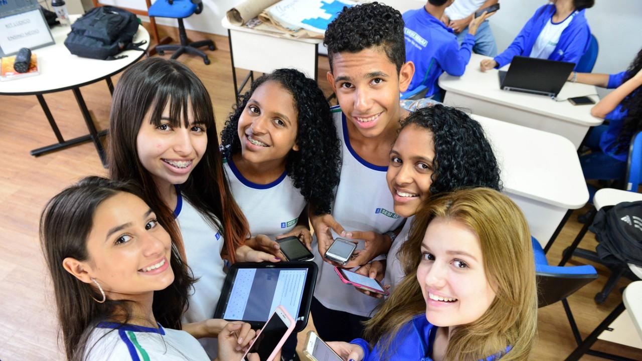 SESI Goiás expande novo ensino médio