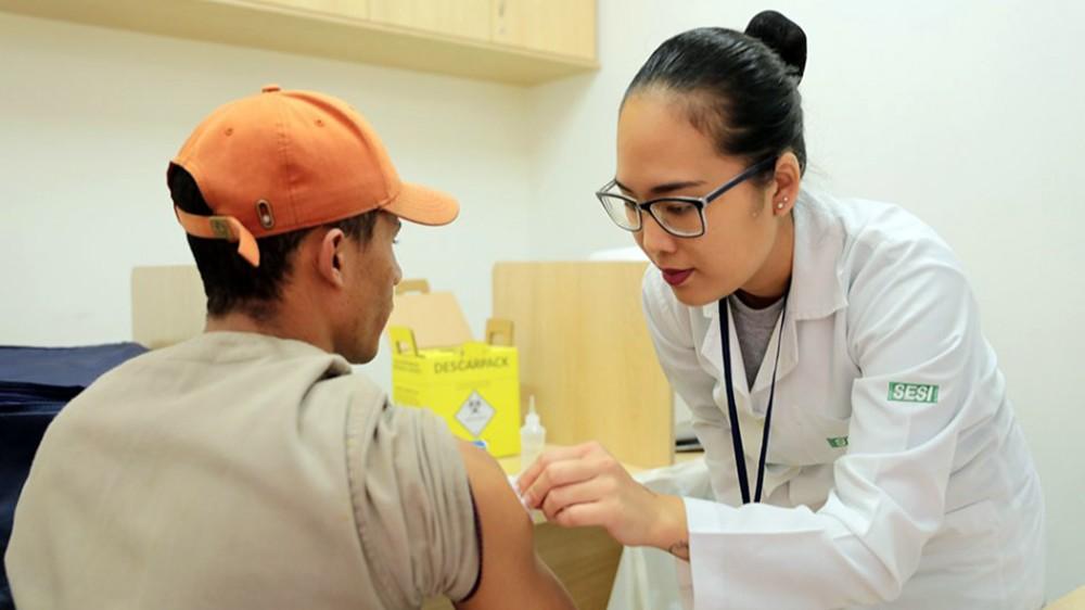 SESI de Mato Grosso do Sul vai vacinar 22 mil trabalhadores