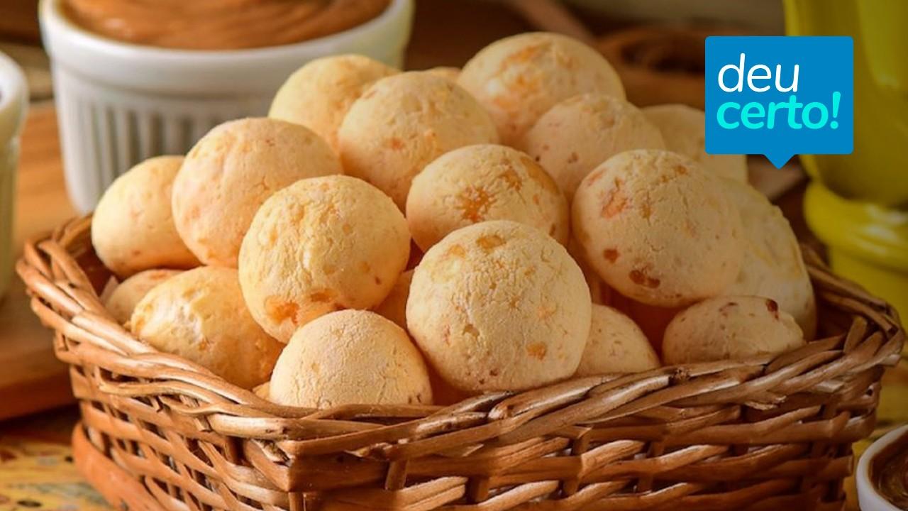 Receita de pão de queijo caseiro vira negócio de família