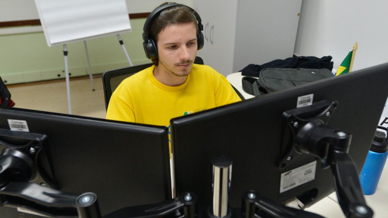 Jogos online inspiraram Gabriel a ser um programador de sucesso