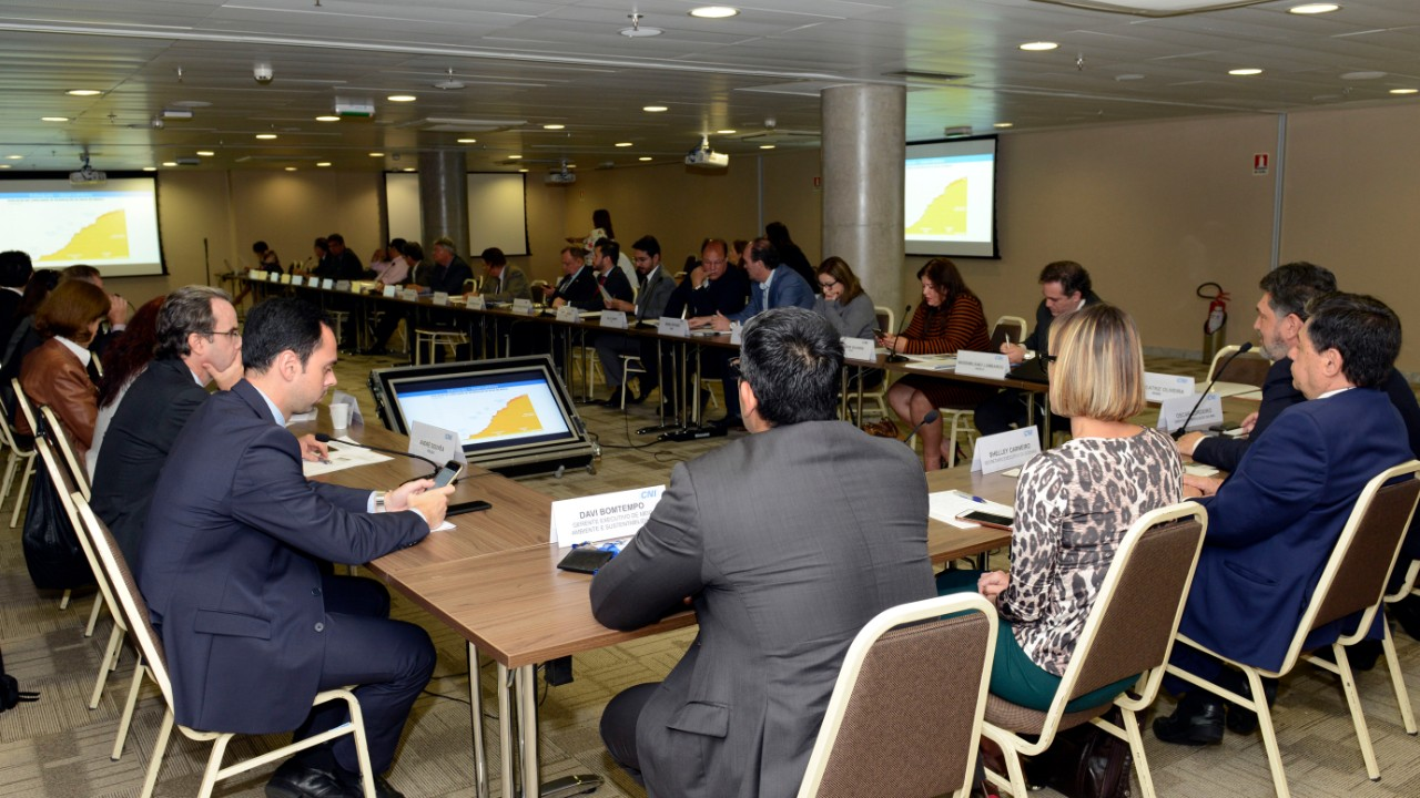 Segurança hídrica foi tema de reunião do Conselho de Meio Ambiente e Sustentabilidade da CNI