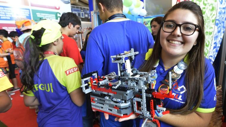 Torneio de Robótica ajuda participantes a escolherem profissão