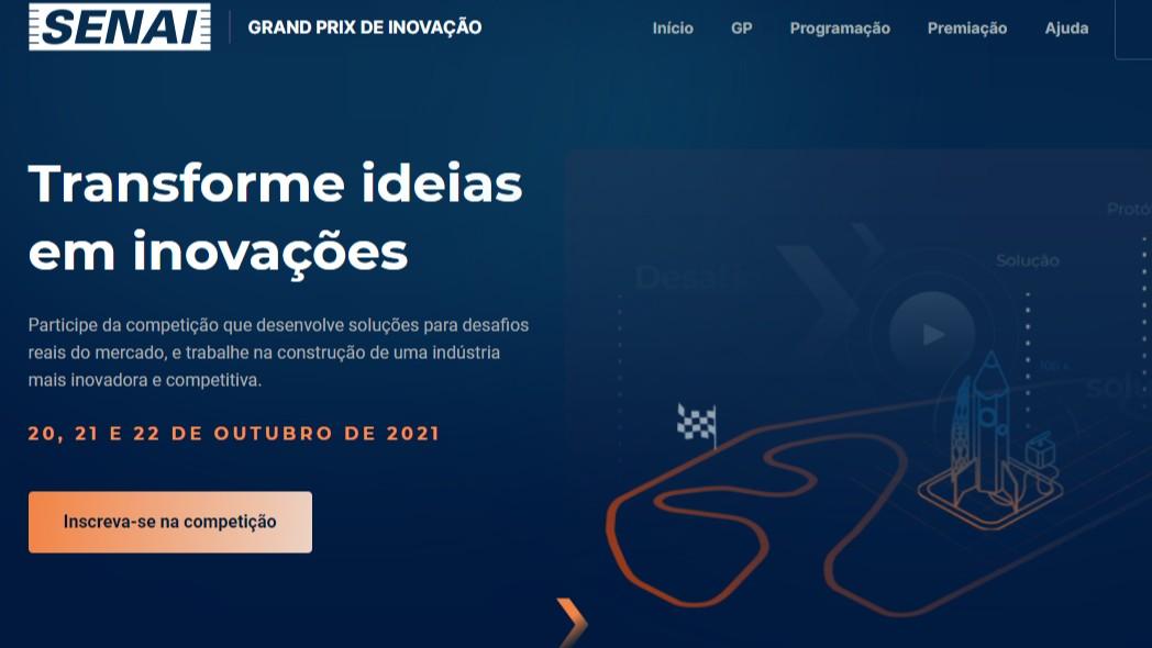 Inscrições abertas para GP SENAI de Inovação