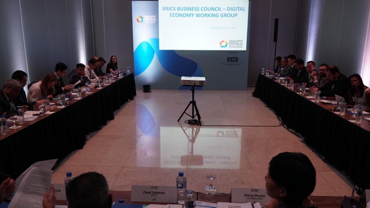 Grupos de Trabalho do Conselho Empresarial do BRICS se reúnem nesta terça-feira (12), em Brasília