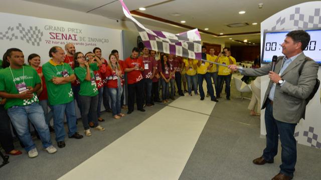 Começa o Grand Prix SENAI de Inovação na capital paulista. Competidores têm 72 horas para produzir ideias