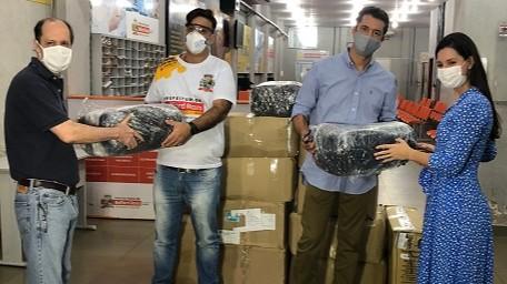 FIRJAN articula doação de mais de 7 mil itens para o SUS