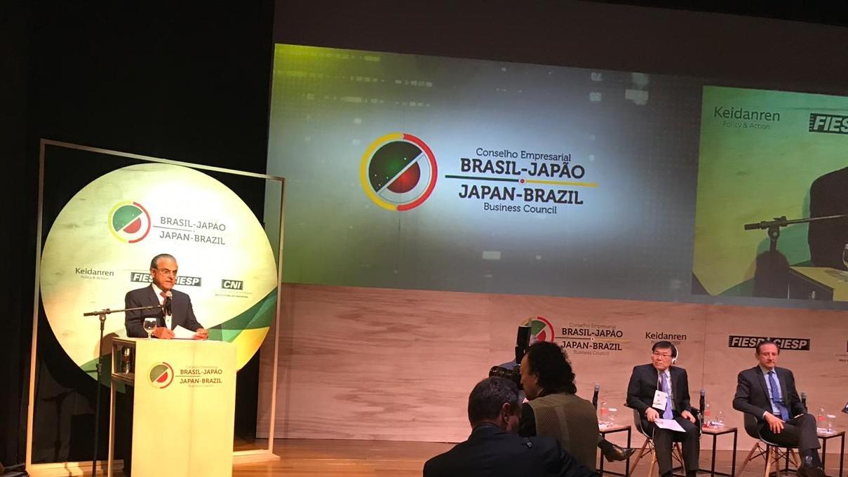 Presidente da CNI reforça importância do apoio do Japão à entrada do Brasil na OCDE
