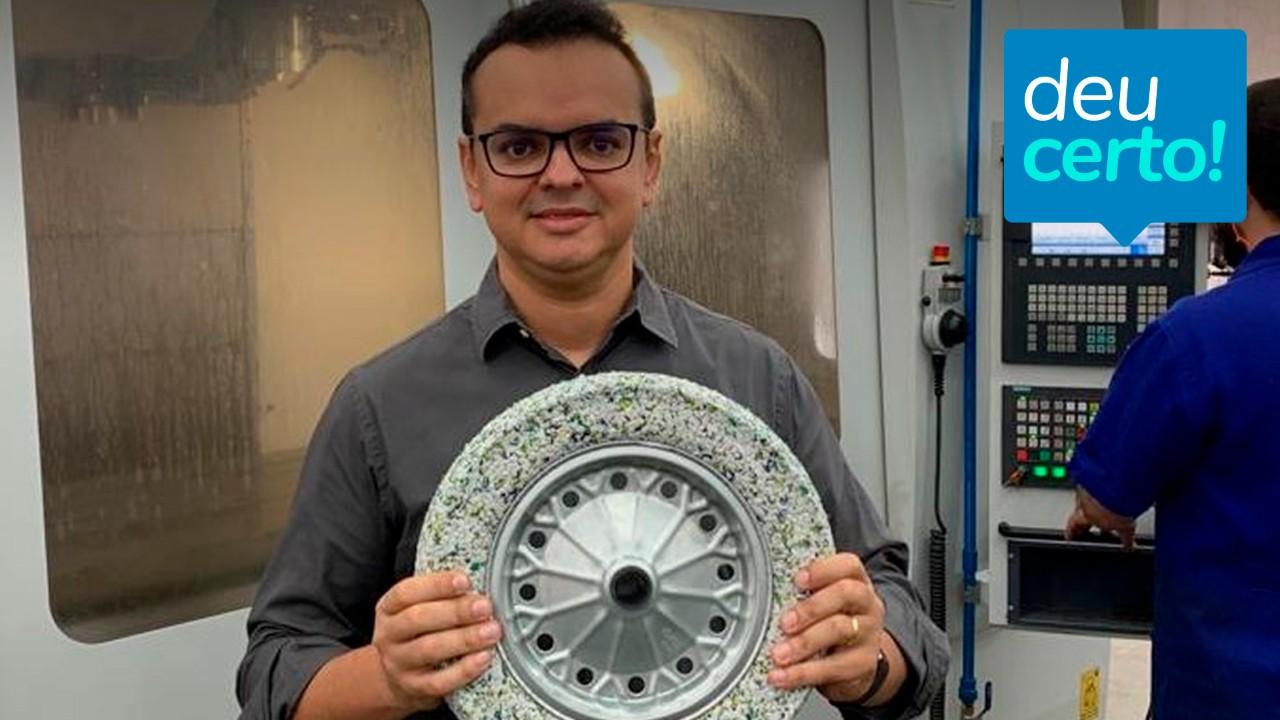 Empresário cria pneus que não furam a partir de sobras de borracha