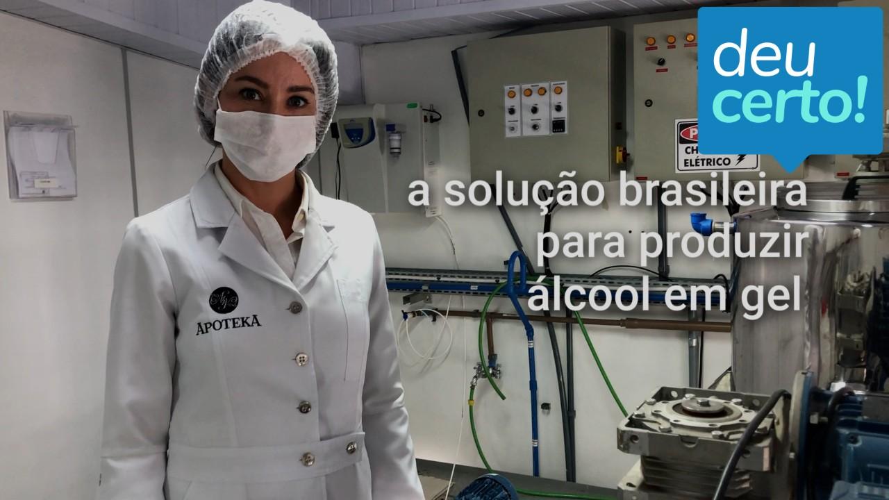 Deu Certo! A solução brasileira para produzir álcool em gel