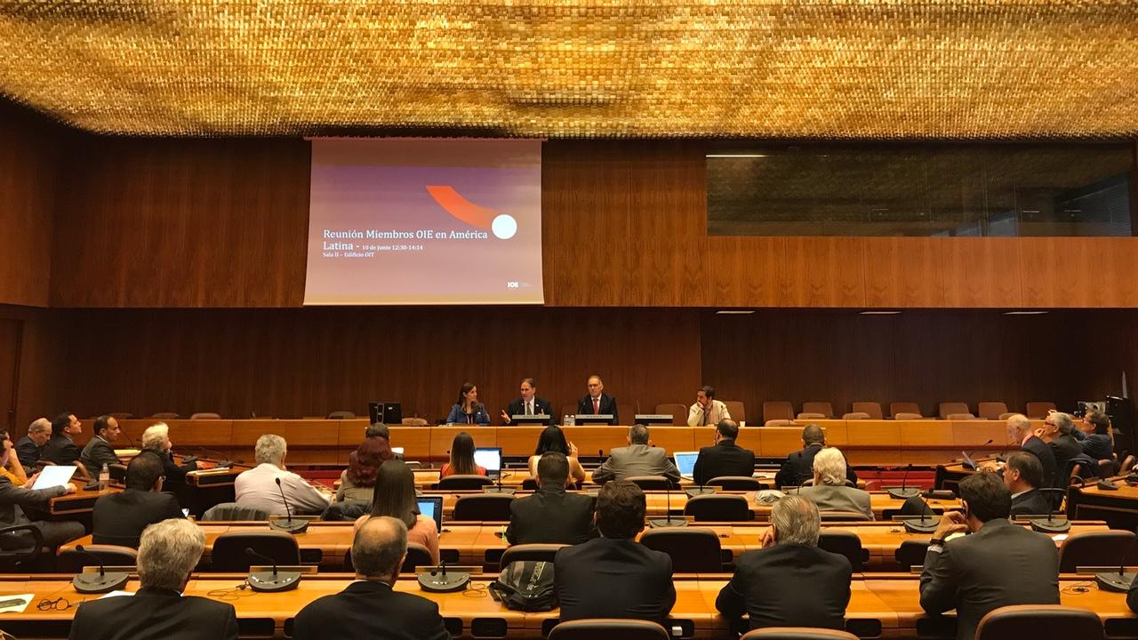 CNI representa indústria brasileira na 108ª Conferência Internacional do Trabalho, em Genebra