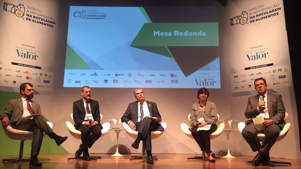 Indústria e representantes da sociedade discutem modelo de rotulagem nutricional