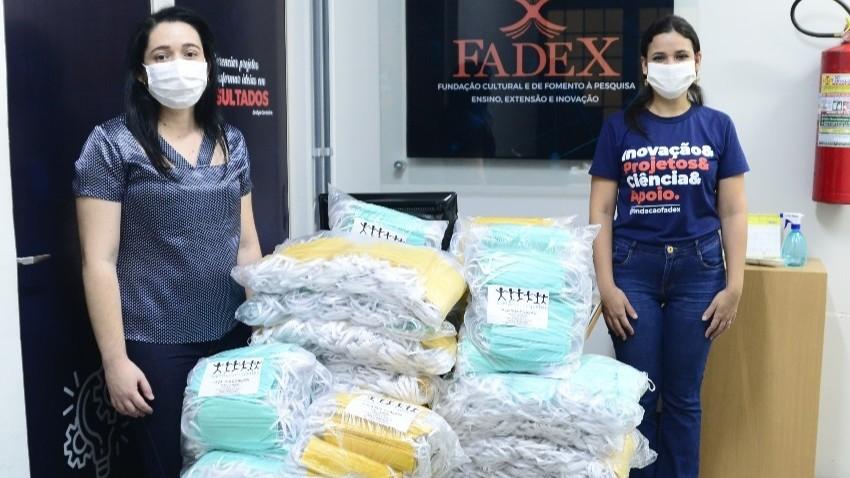 FIEPI entregou 10 mil máscaras descartáveis para FADEX