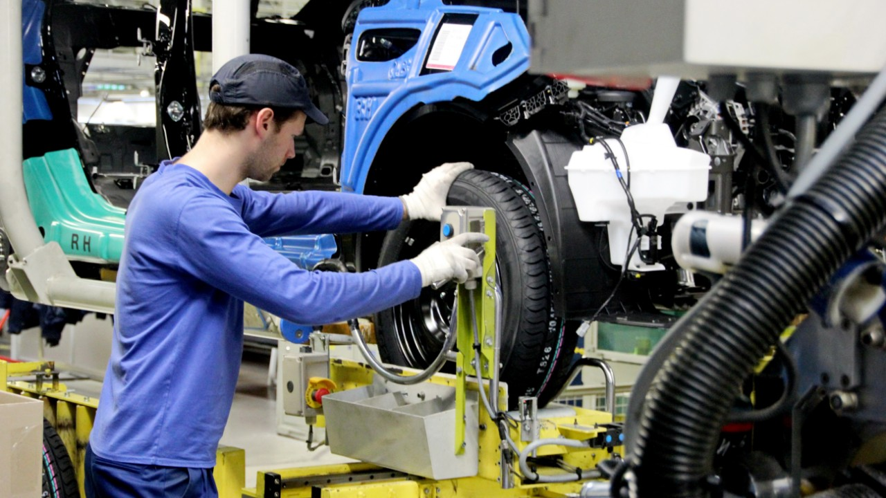 Produtividade da indústria do Brasil cresce mais que a média dos principais parceiros comerciais