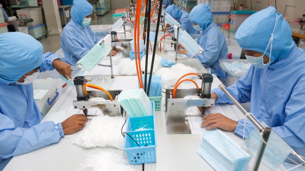 Indústria supre mais da metade de demanda por produtos usados no combate ao coronavírus